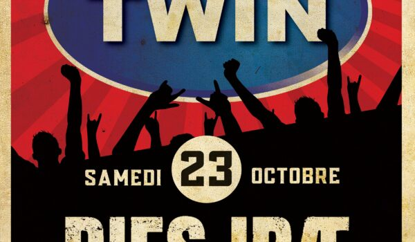 TWIN concert – Dies Irae Tribute to Noir Desir